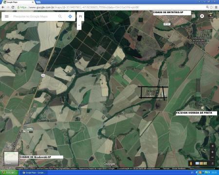 fazenda da prata mapa
