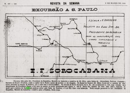 MAPA VIAGEM PRESIDENTE REV.DA SEMANA 8-3-1908