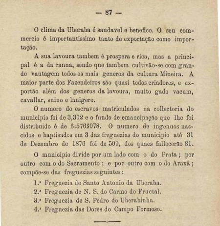 uberaba livro  1878 dois